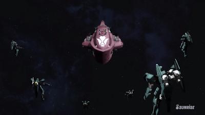La Isaribi circondata dalle forze di Gjallarhorn