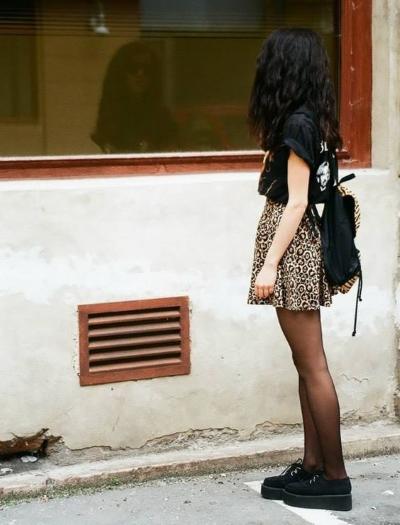 outfit leopard inspiration du dimanche