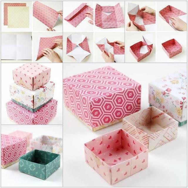 yapımı kolay hediye kutuları