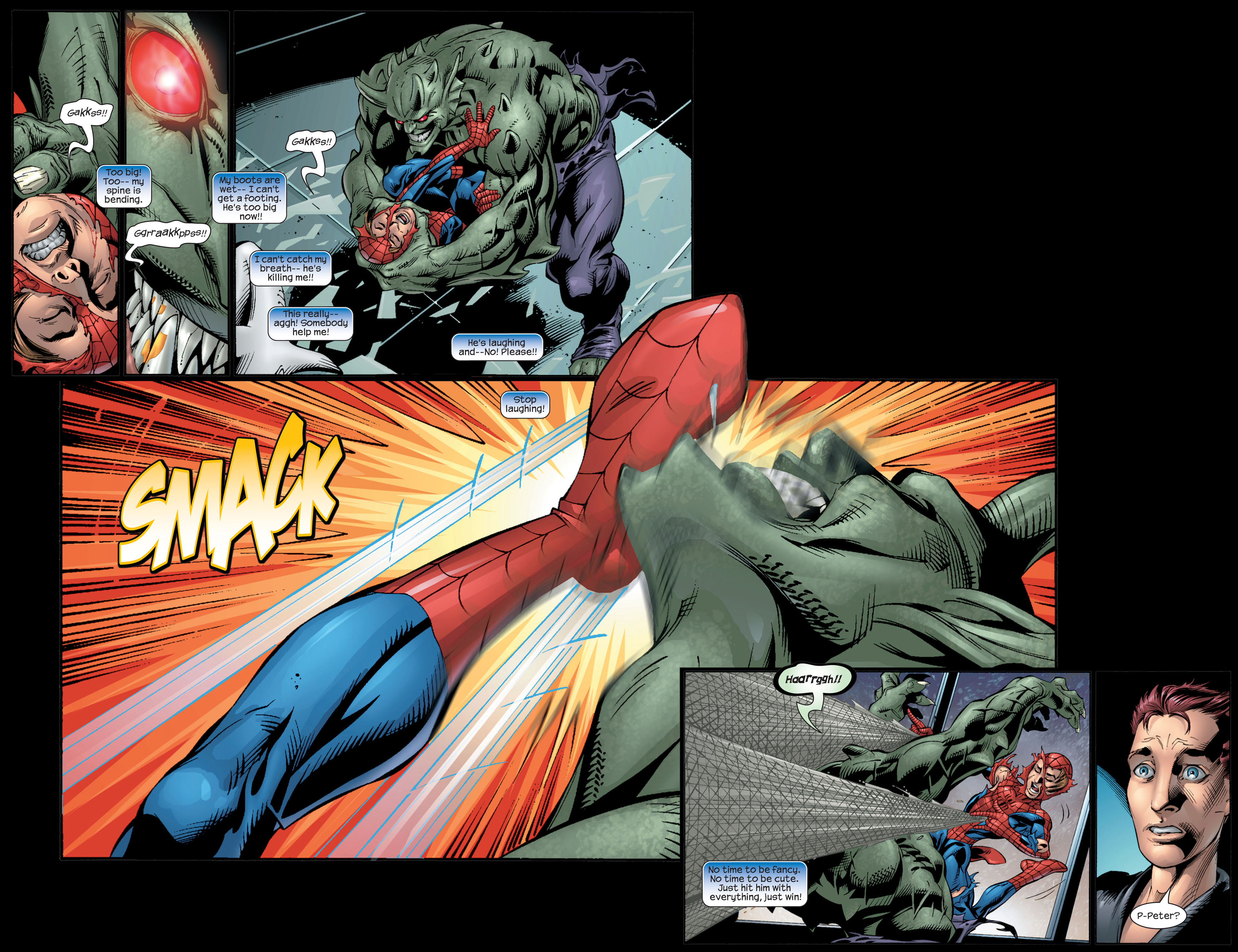 Read online Ultimate Spider-Man (2000) comic -  Issue #27 - 5