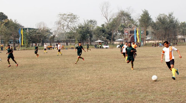 SSB Inter Frontier Knock-out Football Competition semi final