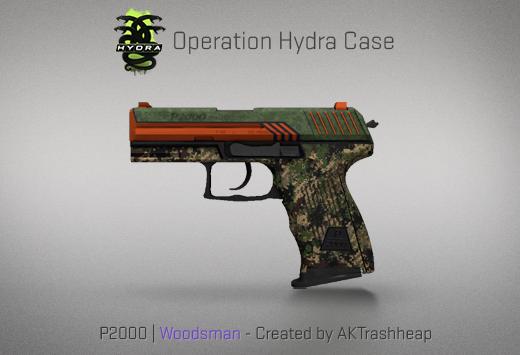 Operation Hydra Case - P2000 | Woodsman