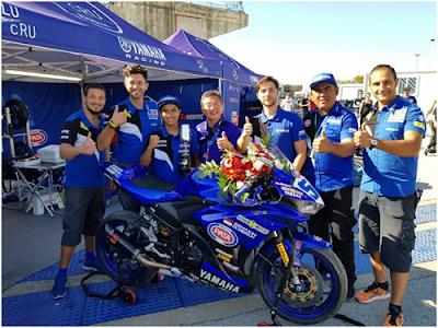 Pembalap Indonesia Raih Kemenangan di Balapan Motor Level Dunia