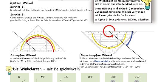 Charmant Linien Und Winkel Arbeitsblatt Zeitgenössisch ...