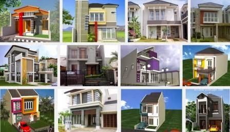 desain rumah tingkat minimalis mewah