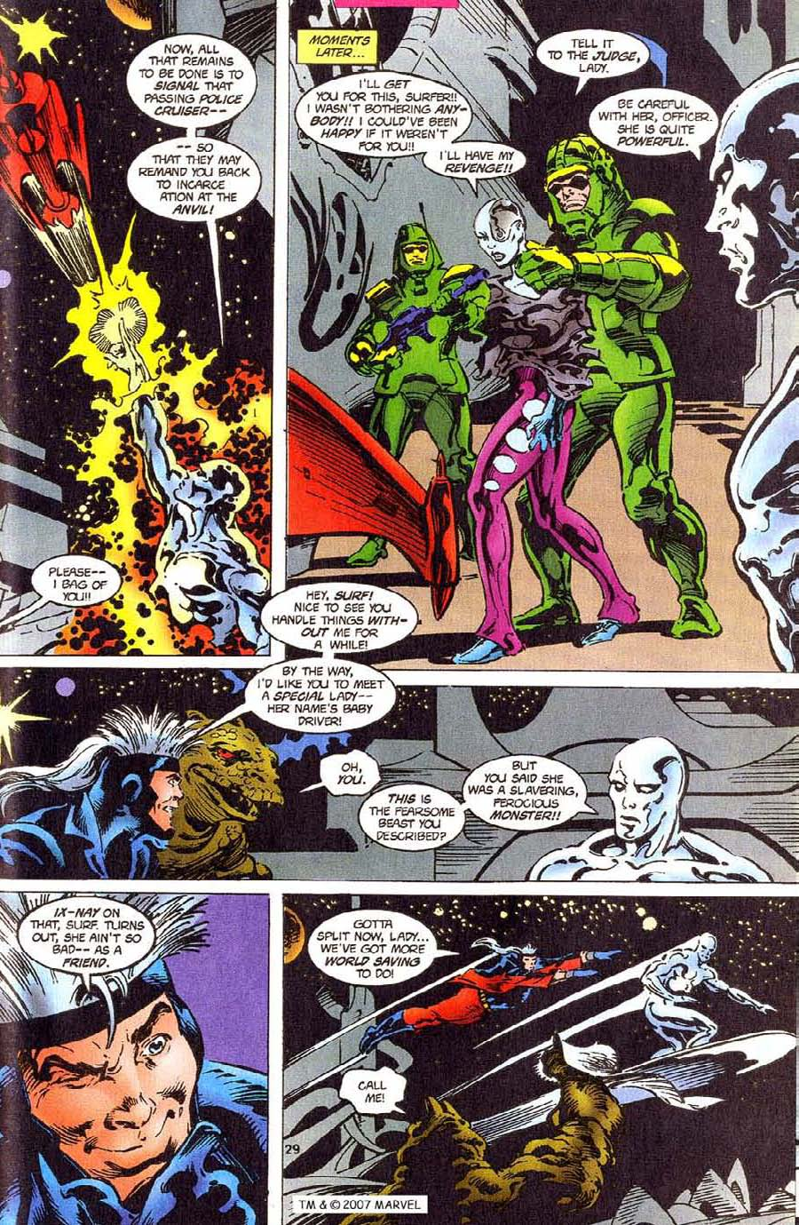 Read online Silver Surfer (1987) comic -  Issue #110 - 31