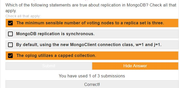 mongodb m101p homework 5.1 answers