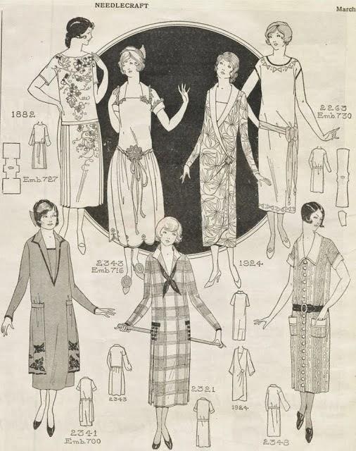 3bc9e5628b6 The Closet Historian  The One Hour 1920 s Dress