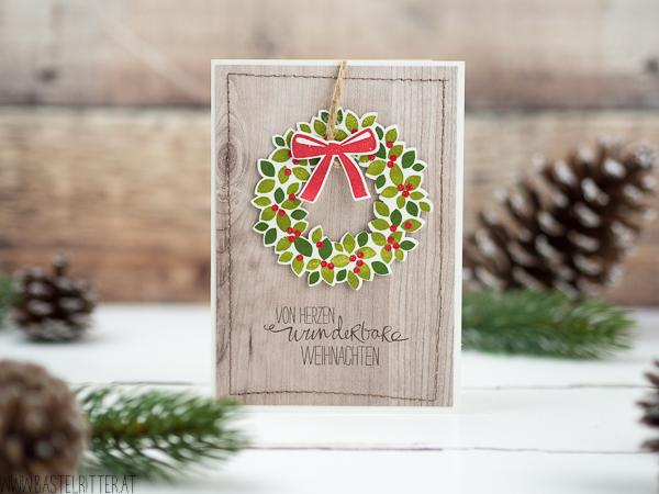 Weihnachten-Karte-willkommen-weihnacht-Stampin-up-Bastelritter-abgenaeht-1