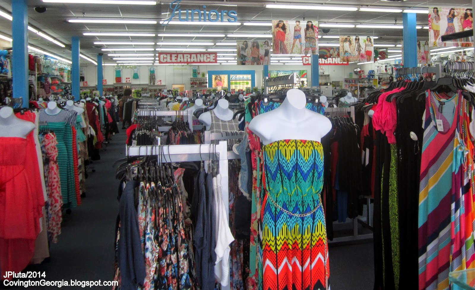 Rainbow clothes stores