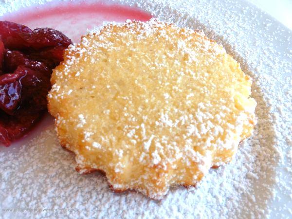 Reisauflauf mit Kirschkompott