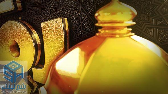 تحميل مجاني قوالب افتر افكت | VIDEOHIVE Ramadan Goldish Opener 19898912