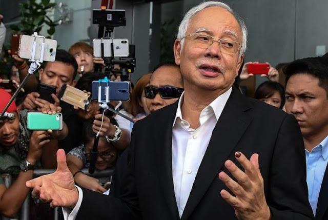 KPK Malaysia Tangkap Najib Razak