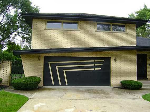 Mid Century Modern Garage Door Ideas Ayanahouse