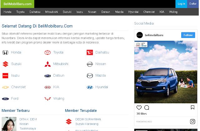 Showroom Mobil Baru Murah di Indonesia