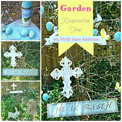 A Hop Back: Garden Resurrection Tree mythriftstoreaddiction.blogspot.com