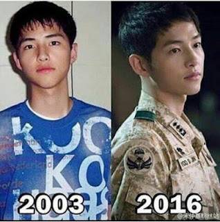Ketampanan Song Joong Ki 'Descendants of the Sun' Asli Bukan Karbitan, Bikin Fans Melongo !
