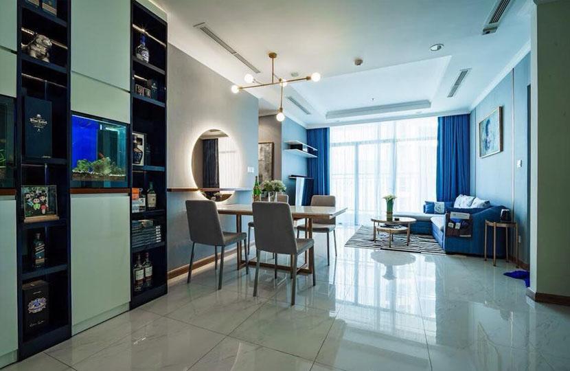 Bán căn hộ Vinhomes Bình Thạnh 2 phòng ngủ C2 tầng 23