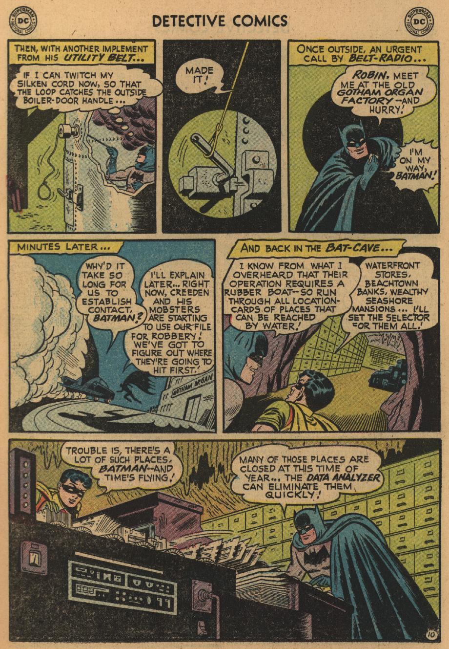 Read online Detective Comics (1937) comic -  Issue #229 - 12