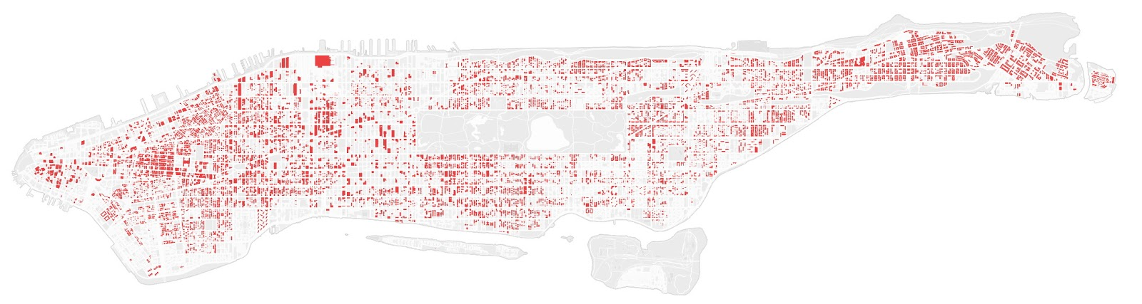 40 percent of the buildings in Manhattan could not be built today.