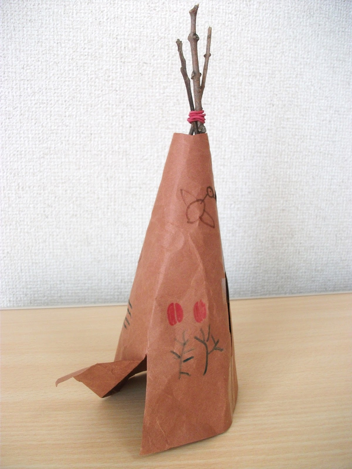 Preschool Crafts For Kids Native American Teepee Tipi Craft