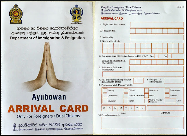 Getting Sri Lankan Tourist Visa for Indian Nationals