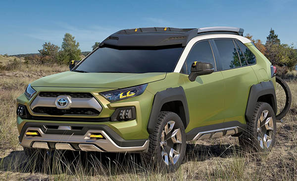 Just When You Though The Ft Ac Concept Was A Preview Of New Crossover Suv From Toyota It Looks Like Might Actually Be Next Rav 4