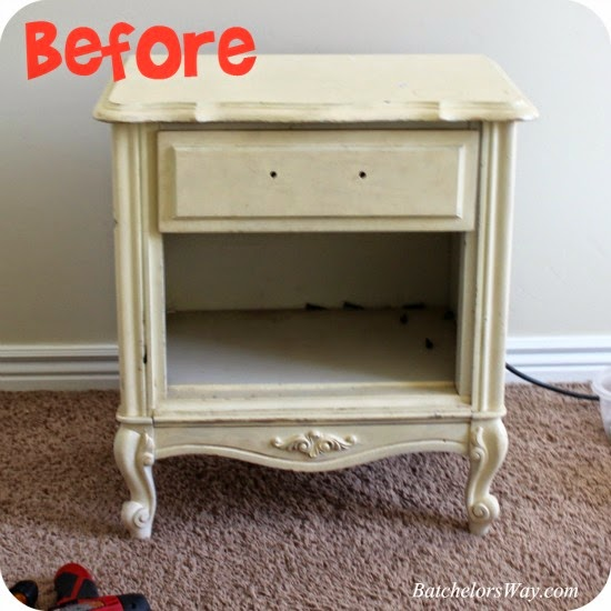Rustic Charm Bedroom Nightstand Remake