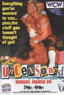 WCW UNCENSORED 1996 - Event Poster