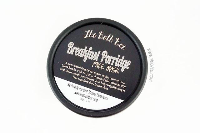 The Bath Box review, The Bath Box Breakfast Porridge Mask Review, Perawatan kulit aman untuk ibu hamil, perawatan kulit aman untuk ibu menyusui, perawatan kulit aman untuk bumil busui, masker homemade aman, masker aman untuk bumil busui