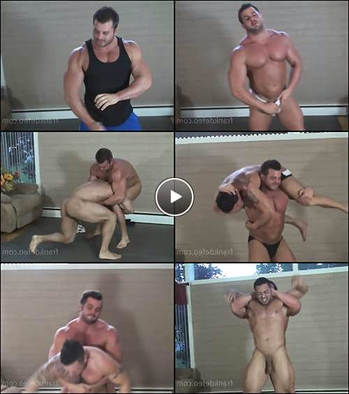 Oil wrestling that leads to sex video