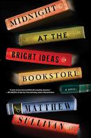 Midnight At The Bright Ideas Bookstore a novel by Matthew Sullivan, thriller and suspense, literary fiction, winter reading list