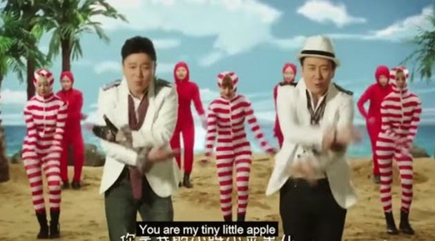 Heboh! MV 'Gangnam Style' Versi Tiongkok