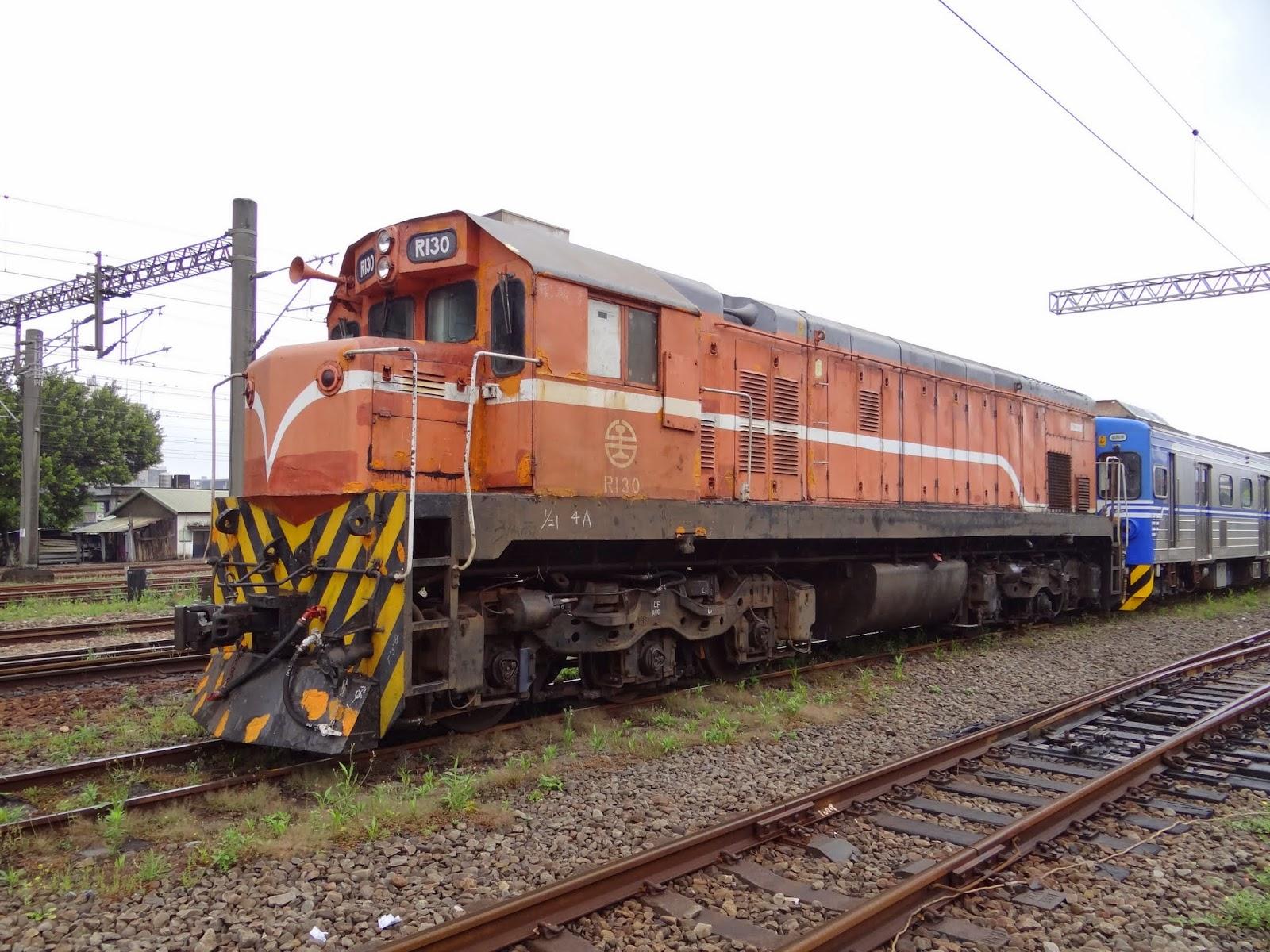 Blair's 鐵道攝影: R130柴電機車 / TRA R130 Diesel-electric Locomotive