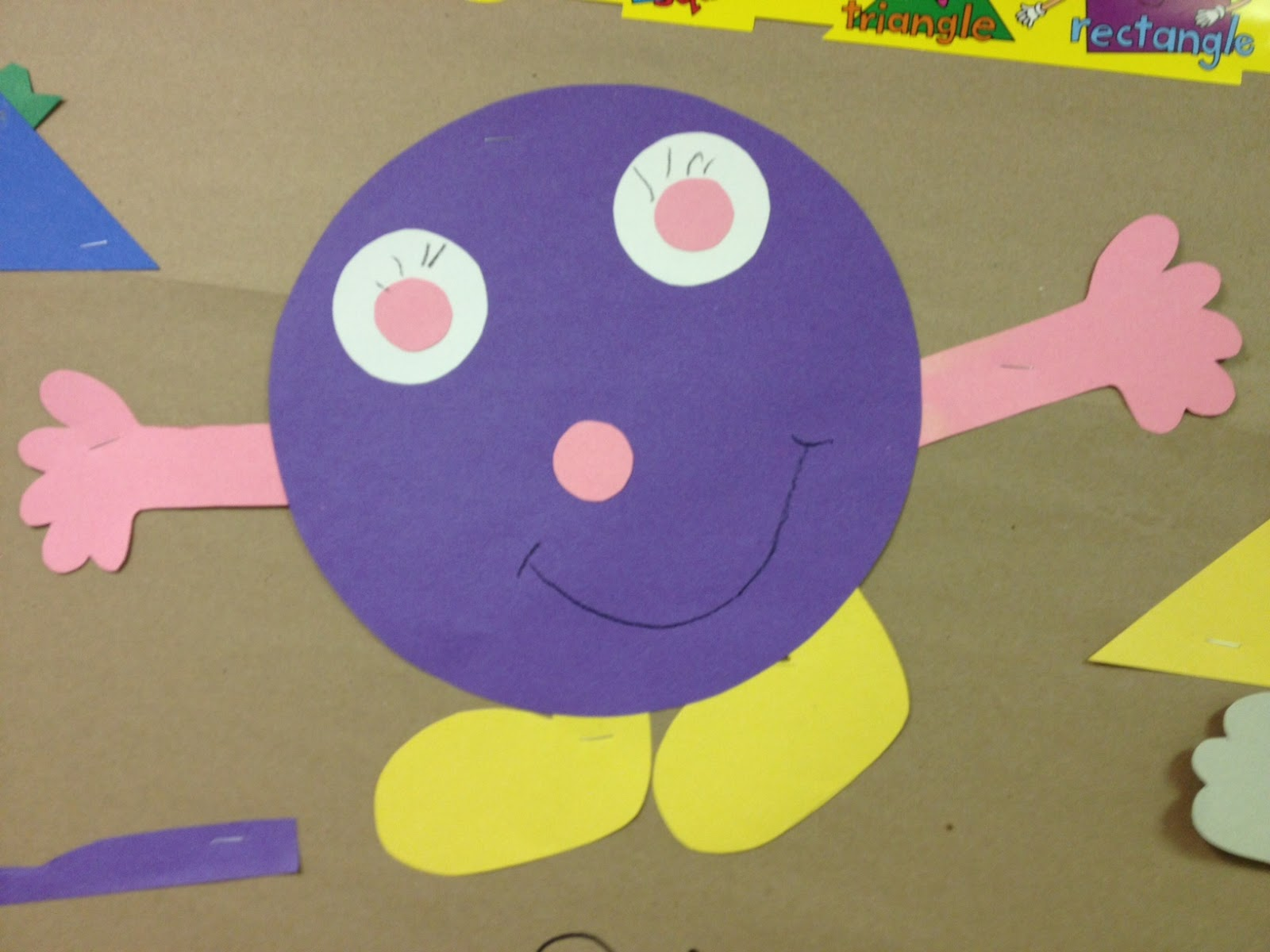 Mrs. Hodge And Her Kindergarten Kids: Shape Monsters And A