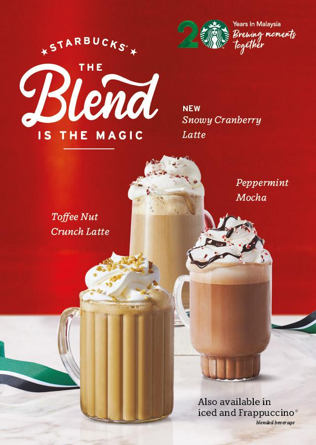 Starbucks Christmas.Plus Size Kitten Starbucks The Blend Is The Magic Christmas