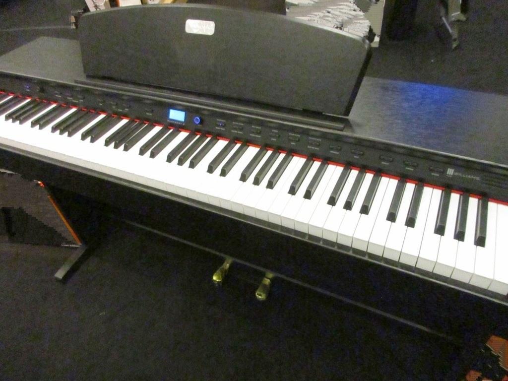 Williams Overture 2 Review : az piano reviews review williams overture 2 and williams rhapsody 2 digital pianos not ~ Vivirlamusica.com Haus und Dekorationen