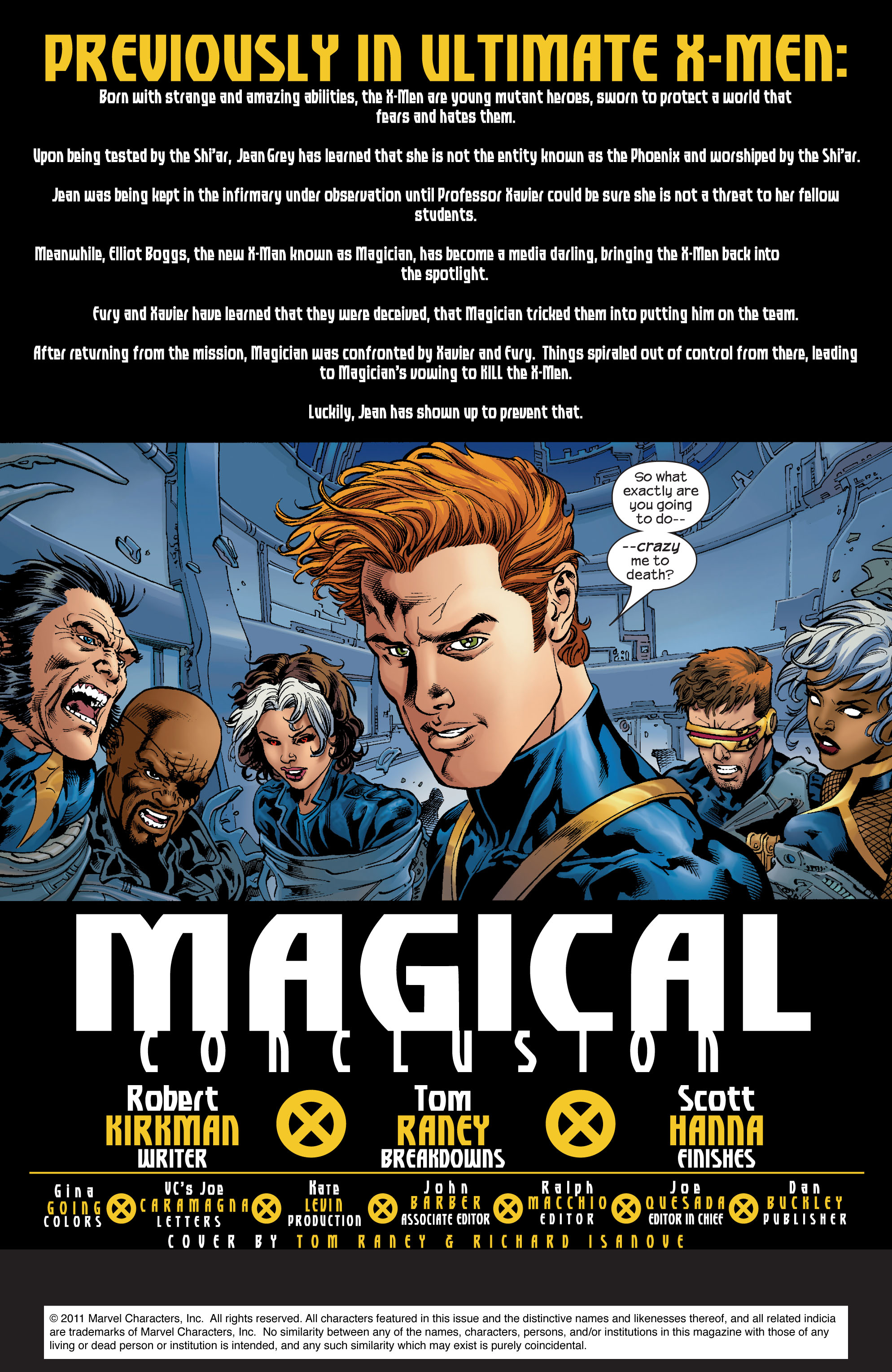 Read online Ultimate X-Men comic -  Issue #74 - 2