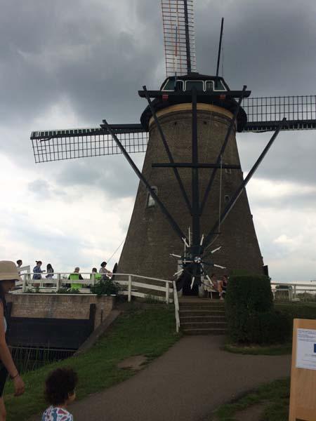 Molino visitable en Kinderdijk