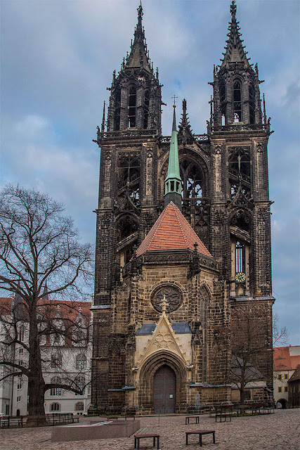 Meissen Cathedral church Hochstift Dom saxony