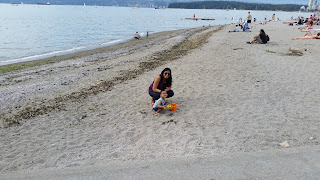 Turning Mommy: Kits Beach