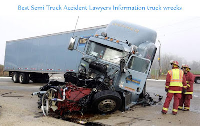 Best Semi Truck Accident Lawyers Information truck wrecks