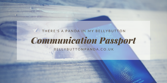 Communication Passport for additional needs. Bellybuttonpanda.co.uk