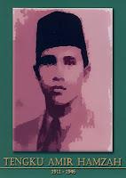 gambar-foto pahlawan nasional indonesia, Tengku Amir Hamzah