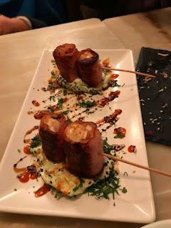 イベリコ豚で巻いちゃった帆立貝