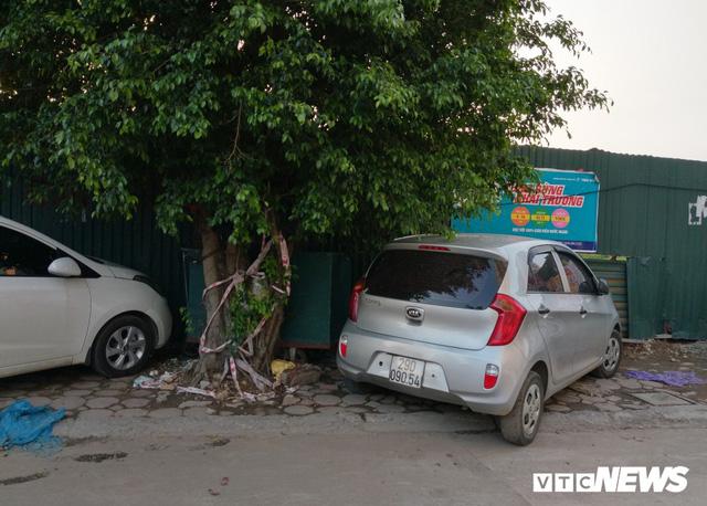 Giải tỏa bãi đỗ xe ở Linh Đàm và Kim Văn Kim Lũ - Ảnh 10