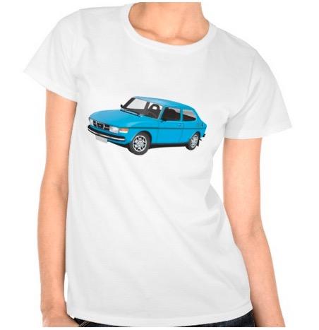 saab, saab 99, t-shirt, 99