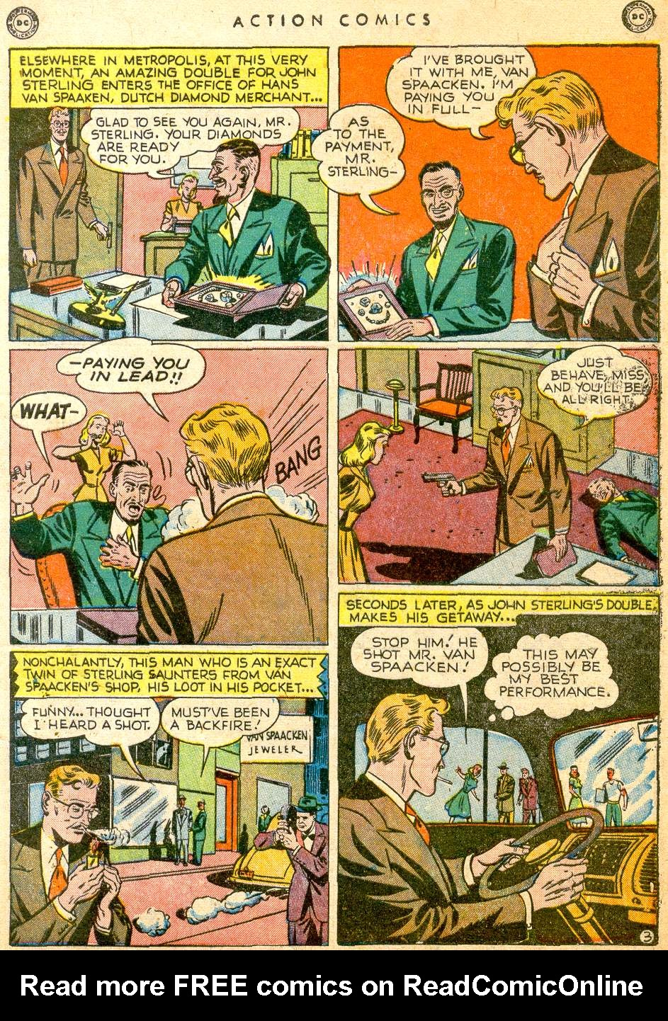 Read online Action Comics (1938) comic -  Issue #126 - 5