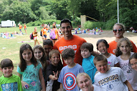 Carlos Jeri, a counselor at the Invensys Foxboro Y's Camp Wapawca