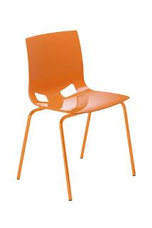 Scaun cafeterie bucatarie Fondo orange